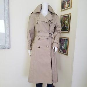 Stunning London Fog Long Trench Coat Maincoats
